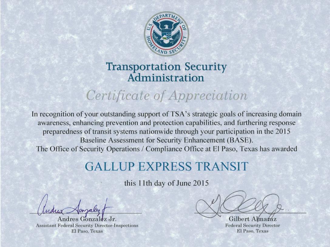 Gallup Express Award Winning Gallup Express
